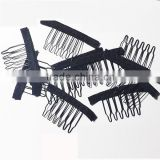 Hair Wig Accessory and Tools Wig Comb in Black Color