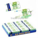 """Euro"" banknote notes book"