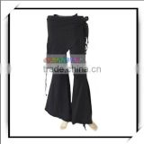 Tribal Belly Dance Pants Bottom Costume Black -F00338