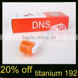 20% Off DNS 192 Titanium MicroNeedle Face Roller for Scars,Wrinkles,Dark Circle Eye Treatment Roller