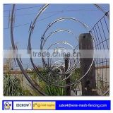 Anping factory modern security ,low price razor barbed wire (ISO9001:2008 professional manufacturer)