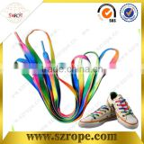 colorful printed polyester shoelaces