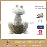 Outdoor Garden Decoration Art Wholesale Frog Figurine Lively Animal Sculpture