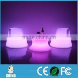 LOUNGE FURNITURE color changing LED seat and chair
