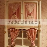 French style hand painted design kids wooden wardrobe closet design with rose carved - BF07-70038W