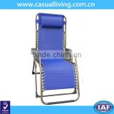 Lounge Chair Zero Gravity with Your Choice for indoor/outdoor