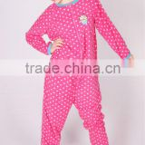 Pink Fleece Adult Footed Pajamas Sleepsuit Onesie All in one Pyjamas Unisex Couple clothes