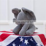 New arrivel t plush elephant electric musical elephant doll plush elephant with moving ear