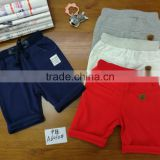 Alibaba HOT Boys Summer short sport Pants trousers Children Blue short trousers China wholesale