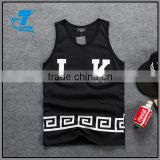 Hip hop women/men shorts&tank top street tracksuit letter streetwear casual vest trousers set sport suits