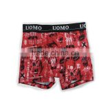 hot sale mens colorful printed boxer brief underwear adult men arabic sexy young boys boxer briefs