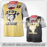 Best selling lacrosse jerseys&custom box lacrosse with high quality