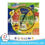 Wholesale wonderful pieces gift plastic intelligent kids board games
