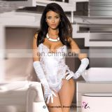 beauty love babydoll lingerie sexy hot girls woman Sexy white lace corset babydoll hot nightwear
