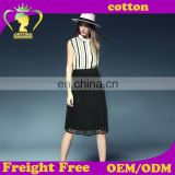 2016 summer autumn new style sexy fashion skirt women lace swing skirt