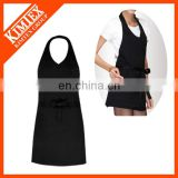 Customized wholesale cotton cheap funny design chef apron