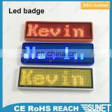 innovated product 2017 Electronic Components led displays custom lapel pins