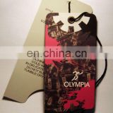 custom personalized paper garment string hang tags for clothing