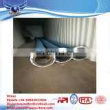 Large diameter steel wire cloth water delivery hose for sucking sand suction and drainage rubber pipe