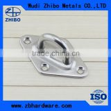 High Polished Stainless Steel Eye Plate / Pad Eye