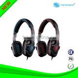 New Over-ear Wired Stereo Headphones with Built-in Mic for Hands-free calling on PC MP3 MP4 PAD SMART PHONE