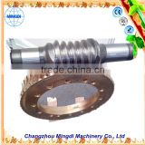 wholesale survival gear /Metal Samll Pinion Brass/stainless Worm Gear for sale Alloy Wheel Screw Shaft