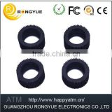 High quality ATM parts machine Small rubber wheels cash wheel pulley gear atm wincor