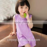 2014 new design fashion baby dress/ frock design for baby girl knitted garment factory china clothing manufacturer