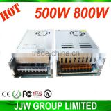 500w power supply price for LED lighting with voltage power transformer price 220v to 12v