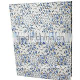 Little Flowers Art Paper Wrapping Ring Binder Desktop File Folder for Office Stationery Cardboard A4 or FC Size