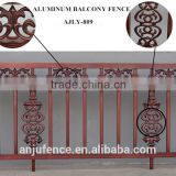Decoration aluminum balcony grill designs AJLY-809