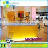 Manufacturer with your logo modern bar counter, mobile display counter, bar counter design