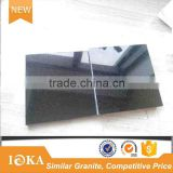 Chinese Black Granite Tiles and Slabs for Paving and Countertop