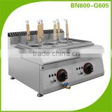 Restaurant Kitchen Equipment Countertop Industrial Gas 6 Pots Pasta Cooker (600 Series Cooking Appliance Line)