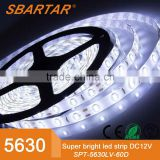 5630 SMD 300LEDs Non-Waterproof Flexible Xmas Decorative Lighting Strips, LED Tape, 5M 16.4Ft DC12V