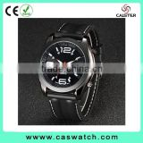 2016 latest sport watches, cool black case waterproof watch, colorful big mu-ti -color numerals dials men's watch