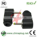 Enviromental Friendly Standard 90 degree dc power plug for power of inline 2.0/0.6mm dc plugs connector
