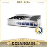 HGR-64GL Multifunction Gas Range with Griddle & Char grill (HGR-64GL)                                                                         Quality Choice