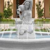 Marble Stone Garden Angel Water Fountain Outdoor