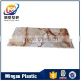 Simple and beautiful marble surface PVC wall panel board