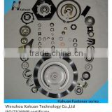 China carbon steel stainless steel or copper fastener circlips gaskets