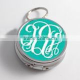 Monogram Pill Box, Personalized Pill Box, Custom Pill Box, Trinket Box Storage, Medical Pills St