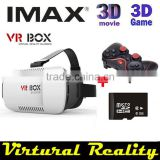 KOTAKU Google cardboard VR BOX Version VR Virtual Reality Glasses + Bluetooth Mouse / Remote Gamepad + 8GB microsd card 3DGames