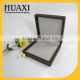 custom wooden large jewelry box spring hinge