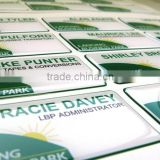 vinyl business Printed and resin domed name badges (M-EP313)                                                                         Quality Choice