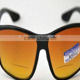 Sun glass HD2 Vison sunglass black or yellow lady sun glasses uv400