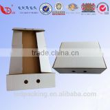 High quality corrugated Kraft box for packing meat box