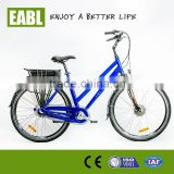 green power city electric bicycle with lithium battery
