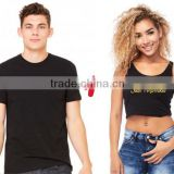 black white girl vest and men shirt customer logo cotton couple clothes