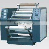 Automatic stretch film rewinder machine